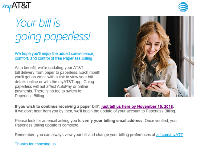 ATT Paperless