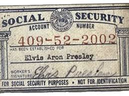 Elvis Social Security