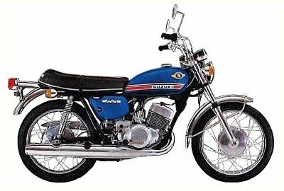 1970 Suzuki T 250