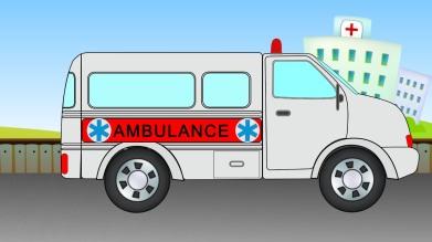 Ambulance Cartoon 2