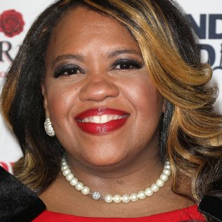 Mandatory Credit: Photo by Kristina Bumphrey/StarPix/Shutterstock (10103425ah) Chandra Wilson 16th Annual Red Dress Awards - Red Carpet Arrivals, New York, USA - 12 Feb 2019